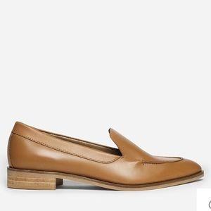 NWOB Everlane Modern Loafer Size 8 Tan Camel